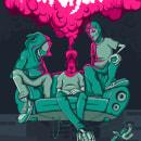 Parchados Hip Hop on the Street . Um projeto de Design gráfico e Ilustração vetorial de Josue Orozco Asipuela - 25.03.2021