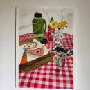 Mi Proyecto del curso: Bodegón contemporáneo con acuarela. Um projeto de Ilustração, Artes plásticas, Pintura, Pintura em aquarela, Desenho artístico e Pintura guache de Sarah Rivera - 26.03.2021