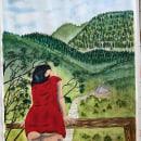 Acuarela y Sumi e. Um projeto de Ilustração, Pintura, Desenho, Pintura em aquarela, Desenho de Retrato, Desenho artístico e Ilustração com tinta de Sarah Rivera - 29.03.2021
