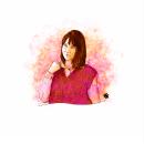 Retrato lily, color y B&N. Um projeto de Ilustração, Ilustração digital, Ilustração de retrato e Desenho de Retrato de El Dibujante Secreto - 28.03.2021