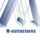 M-estructuras. Un proyecto de Diseño de logotipos de Ingrid Burgos - 31.03.2021