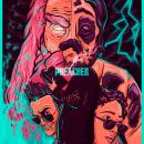 "Ilustración vectorial ""Preacher"" (Proyecto final). Un proyecto de Ilustración, Diseño gráfico, Ilustración vectorial e Ilustración digital de Julián Guirales - 30.03.2021"