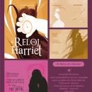 El Reloj de Harriet. Un proyecto de Diseño editorial, Lettering e Ilustración digital de Alejandra Escobar - 20.08.2014