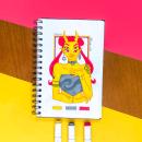 3 Color art Challenge. Um projeto de Design de personagens e Desenho de Gio Boaventura - 25.03.2021