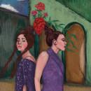 Mi Proyecto del curso: Retratos pictóricos con técnicas digitales. Um projeto de Ilustração, Design de moda, Ilustração de retrato e Pintura a óleo de Gabiru Biru - 03.04.2021