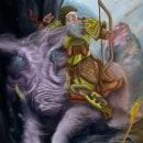 Ilustraciones sobre Mitología Nórdica (proyecto personal). Um projeto de Ilustração digital de Melisa Goette - 20.01.2021