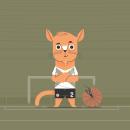 Mi Proyecto del curso: Diseño de personajes vectoriales para principiantes. Um projeto de Design de personagens e Ilustração vetorial de Martin Laksman - 04.04.2021