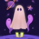 Halloween Wallpapers. Un proyecto de Diseño de personajes, Ilustración digital y Dibujo digital de Cristina Segura - 05.04.2021
