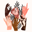 Black Lives Matter. A Illustration project by Tània García Jiménez - 04.05.2021