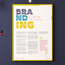 Diseño de Poster: Branding. Un proyecto de Br, ing e Identidad, Diseño editorial y Diseño de la información de TITO CAMPOS - 05.04.2018