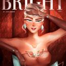 BRIGHT Magazine. Un proyecto de Ilustración digital y Dibujo digital de Nivia Beatriz Cunha - 19.03.2021