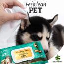 Toallitas Húmedas Para Perros & Gatos . Un proyecto de Diseño para Redes Sociales de ENMANUEL RONDON - 06.04.2021