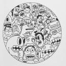 Ink Doodles. Un proyecto de Ilustración, Dibujo e Ilustración con tinta de Jorge Bolívar - 07.04.2021