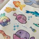 Mi Proyecto del curso: Técnicas de ilustración para desbloquear tu creatividad. Um projeto de Ilustração, Desenho a lápis, Desenho, Pintura em aquarela, Ilustração de retrato, Ilustração infantil e Ilustração com tinta de Marina Moreno Viñolo - 07.04.2021