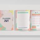 Planner 2021. Um projeto de Design digital e Design gráfico de Katherine Ybarra - 01.01.2021