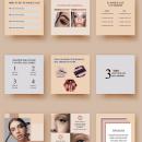 Instagram Feed Templates. Um projeto de Design gráfico, Design digital e Design para Redes Sociais de Katherine Ybarra - 01.02.2021