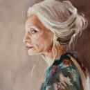 Watercolor Portraits: Age. Um projeto de Ilustração, Artes plásticas, Pintura, Pintura em aquarela, Ilustração de retrato, Desenho de Retrato e Autorretrato fotográfico de Michele Bajona - 08.04.2021