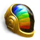 Daft Punk Helmet. Un proyecto de 3D de Leone Artworks - 09.04.2021