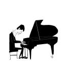 Musicos. Um projeto de Ilustração de Antonio Domínguez Valdés - 09.04.2020