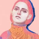 Tiger Girl . A Illustration, Digital illustration, and Portrait illustration project by Nat de la Croix - 04.09.2021