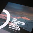 La montaña que llevas dentro - Sierra Nevada. Un proyecto de Diseño editorial y Diseño gráfico de David Crispín - 14.07.2015