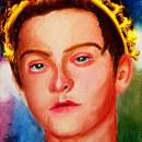 Mi Proyecto del curso: Retrato realista al pastel tiza. Un proyecto de Ilustración, Dibujo, Ilustración de retrato, Dibujo de Retrato y Dibujo artístico de Agustin Mendoza - 10.04.2021