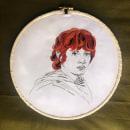 Meu projeto do curso: Criação de retratos bordados. A Embroider project by Glauber Dorotheu - 04.10.2021