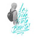 La vida pinta bonita!. Um projeto de Caligrafia com brush pen e Pintura Acrílica de Juan Pablo Bracho Salas - 01.04.2021