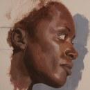 Retrato acrílico. Um projeto de Pintura Acrílica de Juan Pablo Bracho Salas - 11.03.2021