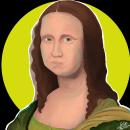 •La Gioconda•. Un proyecto de Ilustración digital, Ilustración de retrato, Dibujo de Retrato, Dibujo realista y Dibujo digital de Paula Gutiérrez Cadavid - 01.10.2020