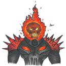 Ghost rider. Um projeto de Ilustração, Comic, Desenho, Desenho realista e Desenho mangá de omar chirinos - 11.04.2021