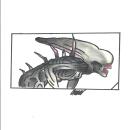alien covenant. Um projeto de Ilustração, Comic e Desenho de omar chirinos - 11.04.2021