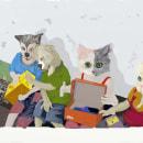 Adoptanos. Un proyecto de Ilustración de Marihel Dennisse Jiménez Diaz - 12.04.2021