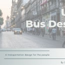 Unió Bus Design / Finalista Concurso Becas IED Barcelona 2020. Un proyecto de Diseño de automoción y Bocetado de Sebastián Jiménez - 12.04.2021