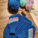 Cardigan talla 2. Um projeto de Crochê de Sandra Crochet - 12.04.2021