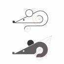 Síntesis Gráfica y Recursos Visuales de Diseño: Ratón. Um projeto de Design de Chary González - 12.04.2021