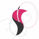 Síntesis Gráfica y Recursos Visuales de Diseño: Flor Anturio. Um projeto de Design de Chary González - 12.04.2021