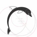 Síntesis Gráfica y Recursos Visuales de Diseño: Delfín. Um projeto de Design de Chary González - 12.04.2021