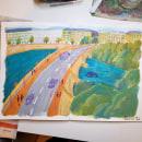 Mi Proyecto del curso: Sketchbook pictórico en gouache. Um projeto de Ilustração e Pintura guache de Maria Exposito Gil - 13.04.2021