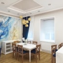 Reforma integral - Proyecto y dirección a distancia. Un proyecto de Dirección de arte, Diseño de interiores y Decoración de interiores de Yulia Yanishevska - 15.01.2020