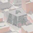 Biblioteca. Un proyecto de Ilustración arquitectónica de ines albertengo - 14.04.2021