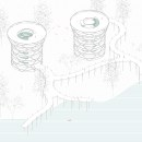 Mirador TIFÓN. Un proyecto de Ilustración arquitectónica de ines albertengo - 14.04.2021