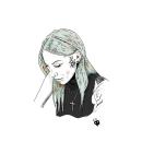 Retrato de Amanda. Um projeto de Ilustração, Ilustração de retrato e Desenho de Retrato de El Dibujante Secreto - 17.04.2021
