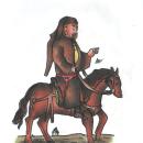 dibujo basado en manuscrito del siglo XIV. Um projeto de Ilustração, Pintura, Desenho e Desenho artístico de omar chirinos - 17.04.2021