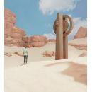 Desert monolith. Um projeto de Concept Art de Giuliano Mancuso - 16.04.2021