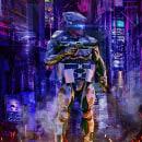 Matte Painting Cyberpunk 2077. Un proyecto de Dirección de arte, Composición fotográfica y Matte Painting de Darwin Martínez - 17.04.2021