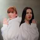 Nawja & Mala. Oleo sobre lienzo.. Um projeto de Pintura a óleo de AITOR MARTINEZ ROLLAN - 17.04.2021