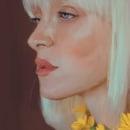 DIGITAL PAINT// Karina by xenia.lau. Un proyecto de Dibujo de Retrato, Dibujo realista y Dibujo digital de Grethel Balladares - 19.04.2021