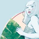 ILUSTRACIÓN // Summer . Un proyecto de Ilustración de Grethel Balladares - 19.04.2021