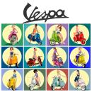 Mundo Vespa: Nuevo proyecto. A Illustration, Character Design, Digital illustration, and Digital Drawing project by Francisco Javier Llobregat Garcia - 04.20.2021